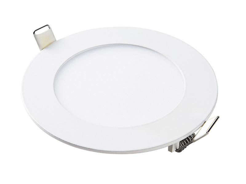 Світлодіодна панель кругла-6Вт (Ø120/Ø107) 6400K, 470 люмен LEZARD