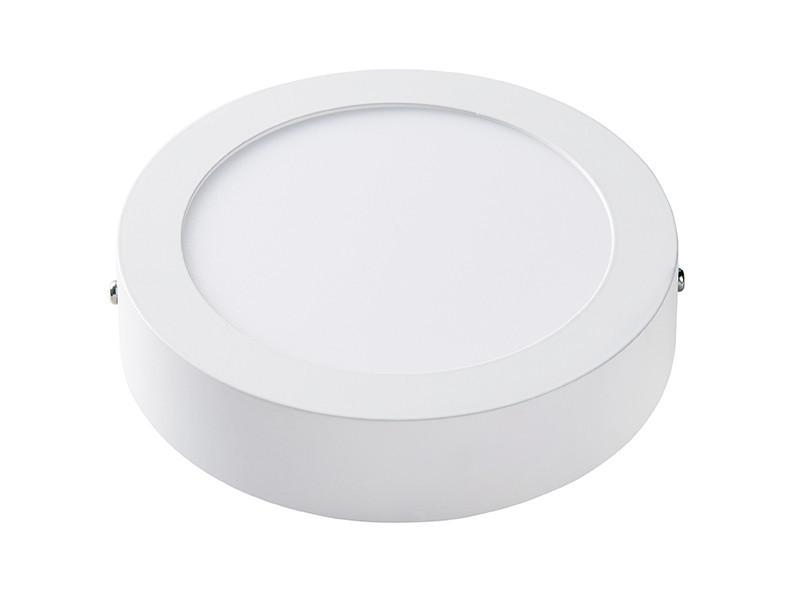 Світлодіодна панель кругла-12Вт накладна (Ø174) 6400K, 950 люмен LEZARD