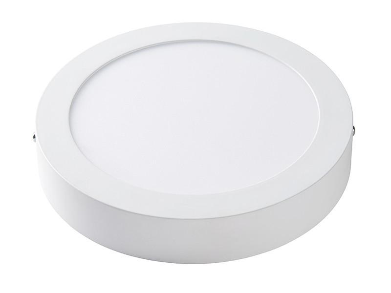 Світлодіодна панель кругла-18Вт накладна (Ø225) 6400K, 1440 люмен LEZARD