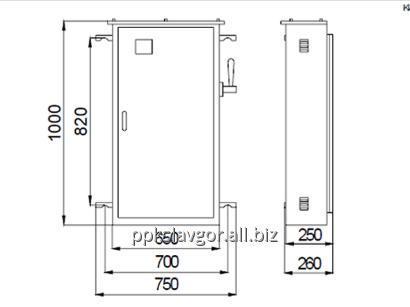 Купить Шкаф учета и распределения энергии ПР8902 (ЯВУ 250)
