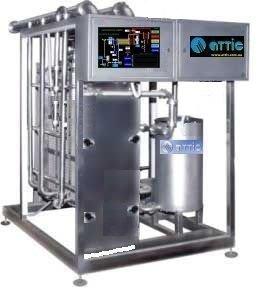 Купить Установка пастеризационно-охладительная пластинчатая автоматическая 5000л/ч Применяется в молочной, пивобезалкогольной и др.