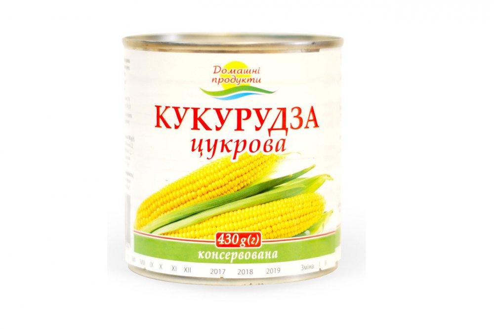 Купить Кукурудза цукрова Домашні продукти 430г