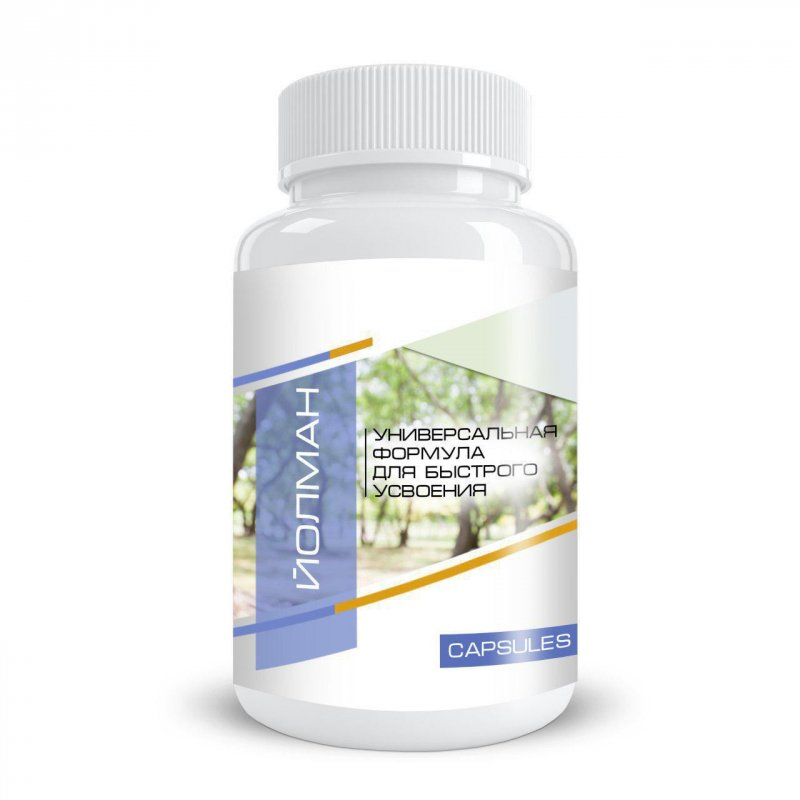 Buy Yolman №7 - capsules for detoxification