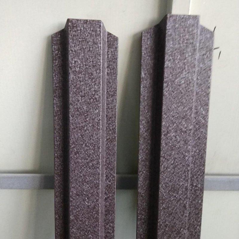 Штакетник для забора 8019 мат (темно коричневый) Strimex