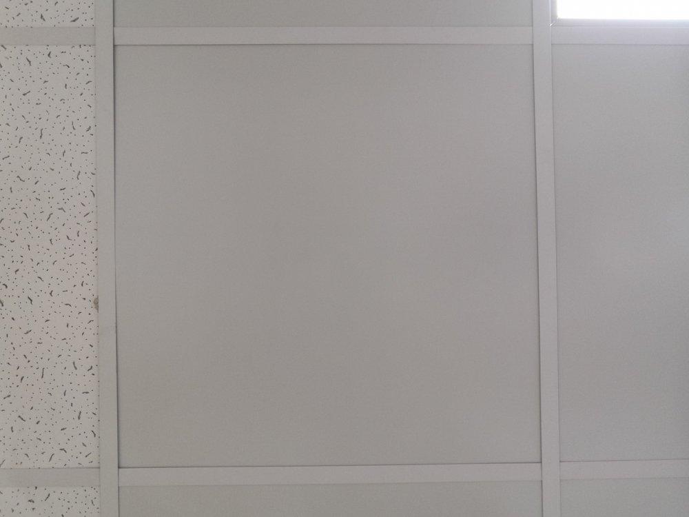 Потолочные панели металлические Strimex RAL 9003 цвет белый