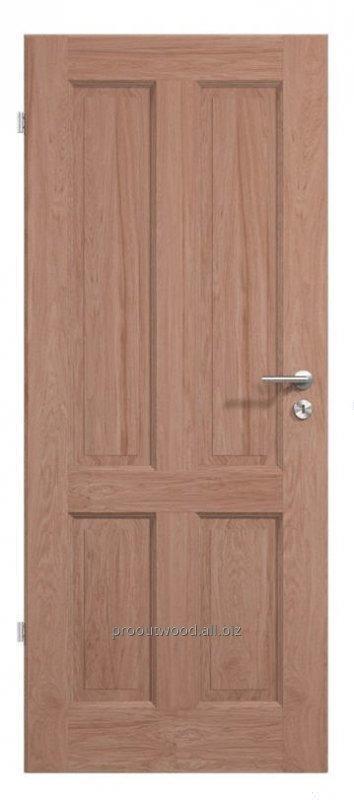 Купить Межкомнатные двери дуб ламельная технология из натурального дерева , модель TYP1 GD4