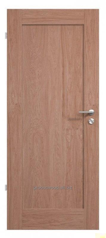 Купить Межкомнатные двери деревянные дуб ламельная технология из натурального дерева, модель TYP2 GD1