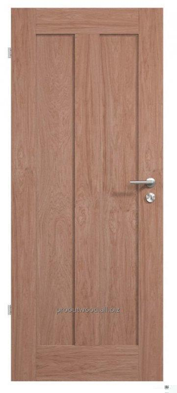 Interior wooden doors of oak size 4.4 * 80 * 200 cm., Model TYP2 GD5