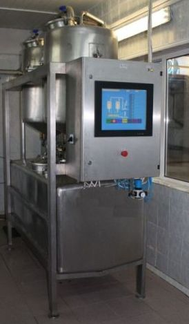 Buy Automatic milk counter weight to 25t / h DUET-25RS