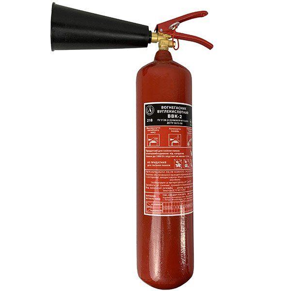 Купить Огнетушитель углекислотный ОУ-3 (ВВК-2)