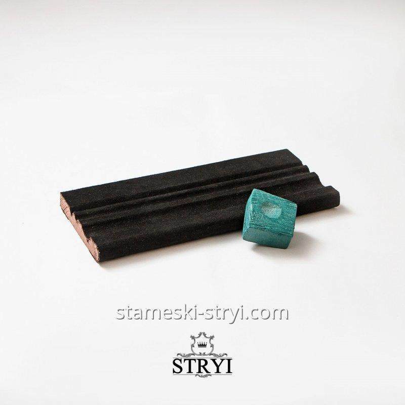 Профильный брусок для заточки, правки и доводки инструмента 30 см с Пастой Гои 100гр, арт.00301
