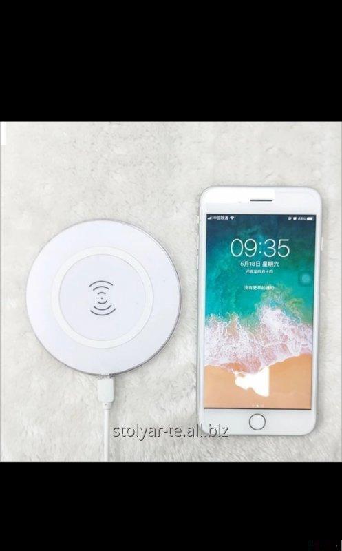 Купить Быстрая беспроводная зарядка 10w QI для iphone и android