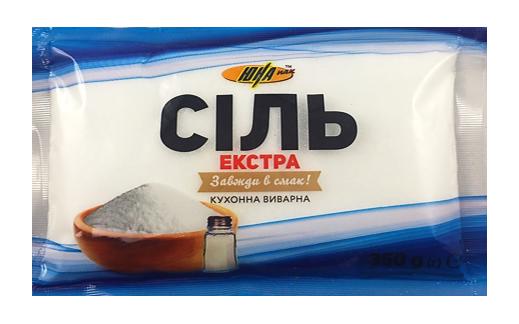Купить Сіль ЕКСТРА ЮНА кухонна виварна 350г