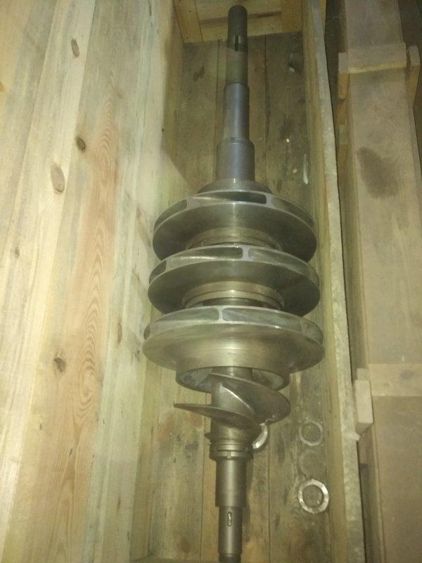 Ротор в сборе Н18.77.30.00 к насосу КСВ 320-160-2