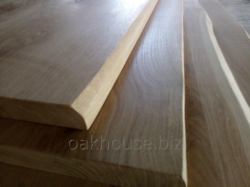 Столы из массива дуба, дубовые столешницы