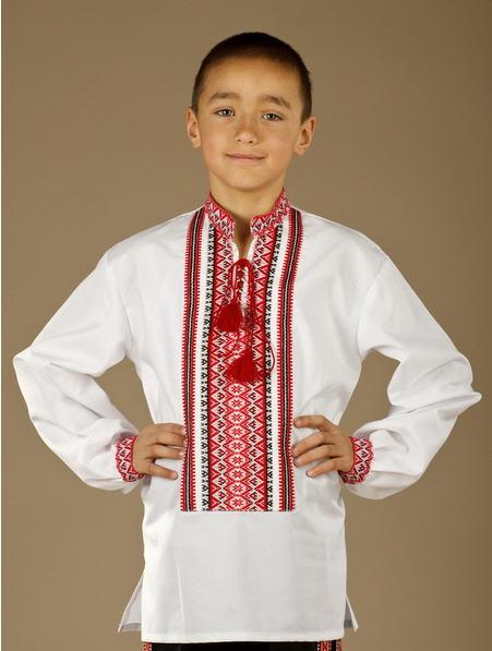 Сорочки детские Мужская рубашка-вышиванка ЧС 2