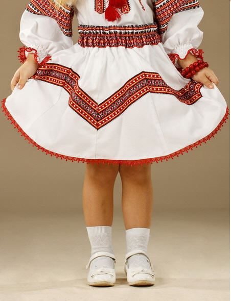 Юбки детские Вышитая юбка