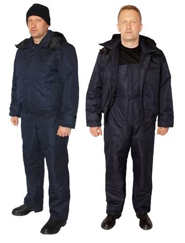 Костюм утепленный. Полукомбинезон с курткой утепленный,евростандарт. Основная ткань: Грета т.синяя ВСТ . Производитель Украина. Состав-(53% х/б+47% п/э) Подкладка – п/э(100% полиэстер). Утеплитель: синтипон (2слоя).
