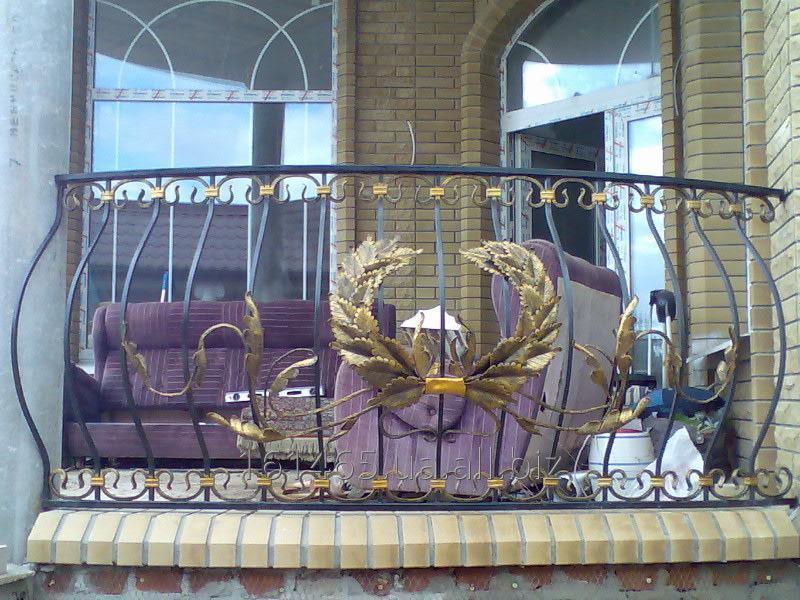 Купить Решетки балконные кованные,Балконы кованные из металла