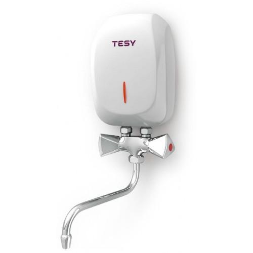 Купить Проточный водонагреватель TESY 5 кВт со смесителем (IWH 50 X02 KI) + Бесплатная доставка