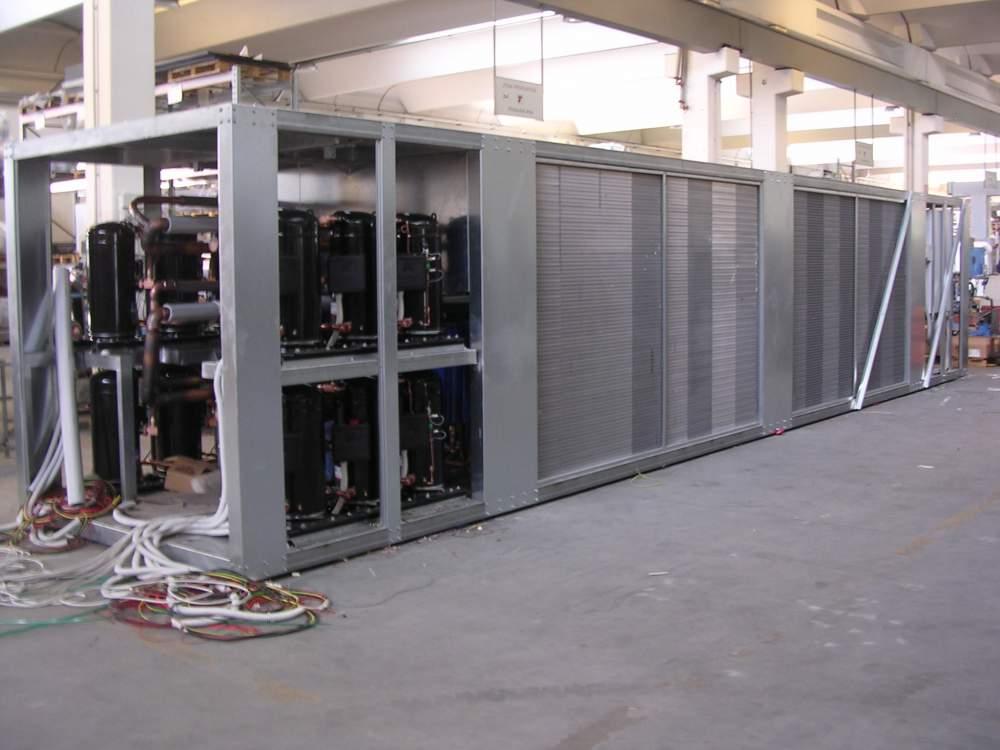 Чиллер 1500 кВт Industrial Frigo
