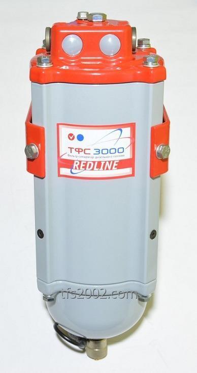 Фильтр-сепаратор дизельного топлива с подогревом ТФС-3000/10-12V Red Line