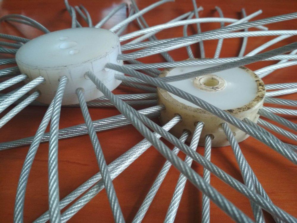 Купить Щетка для чистки вентиляционных труб - Трос сталь