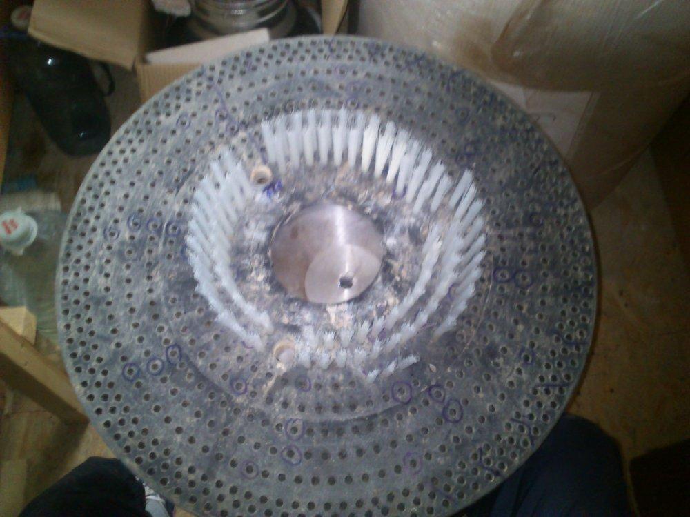 Купить Восстановление ворса на дисковых щетках для клининговых машин