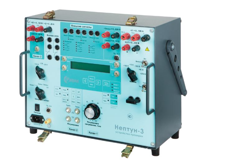 Купить Устройство проверки средств релейной защиты Нептун-3