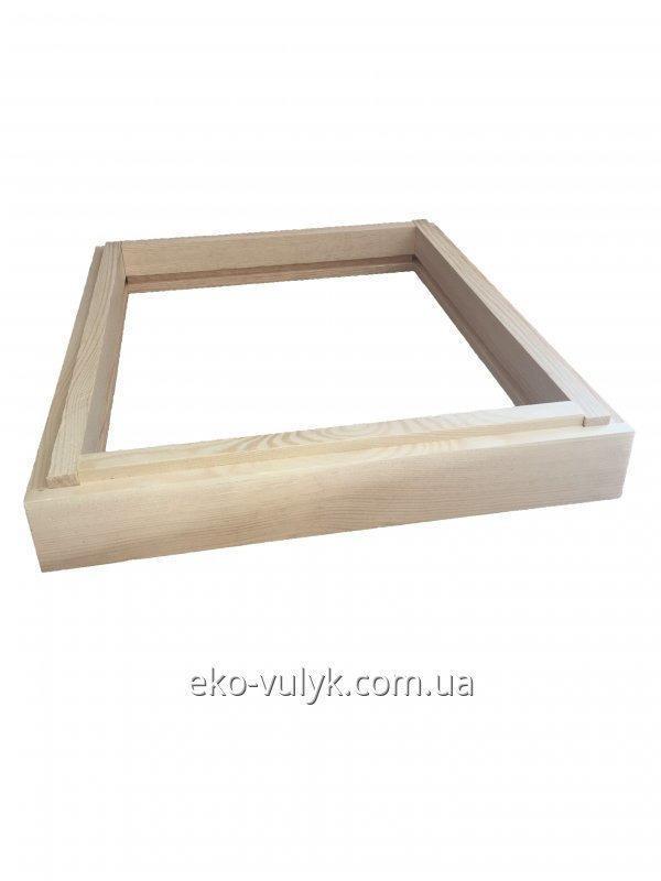 12 рамочный подкрышник без потолочины для улья (фальцевого)