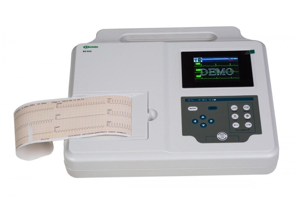 Электрокардиограф Биомед BE 300, 3 - канальный (color)