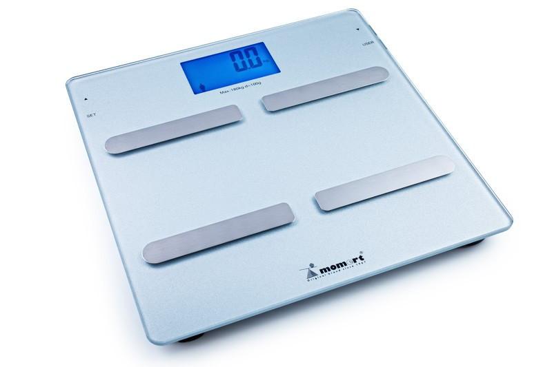 Весы электронные на стеклянной платформе (Модель 5863) Momert