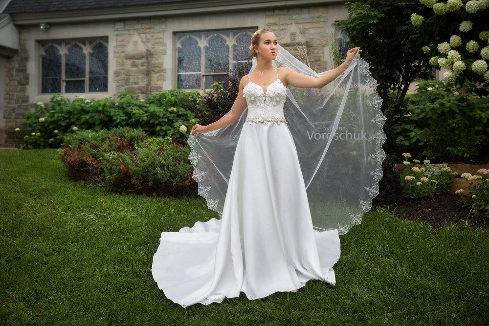 Wedding dress, model 5k