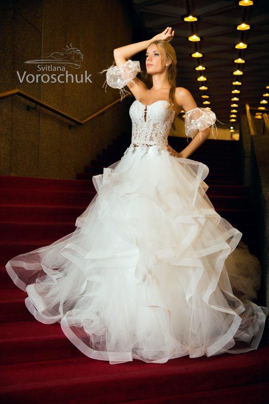 Wedding dress, model 8k5c