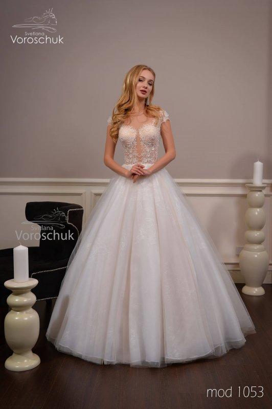 Wedding dress, model 1053
