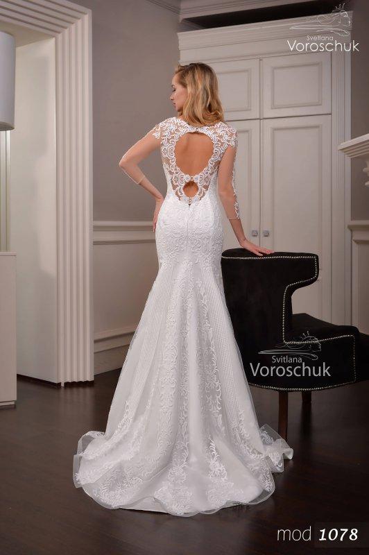 Wedding dress, model 1078