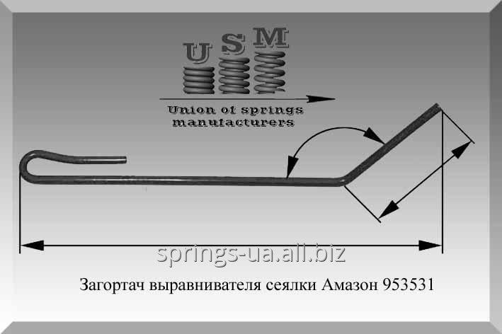 Buy Tooth harrow 953 531 Amazone sowing unit