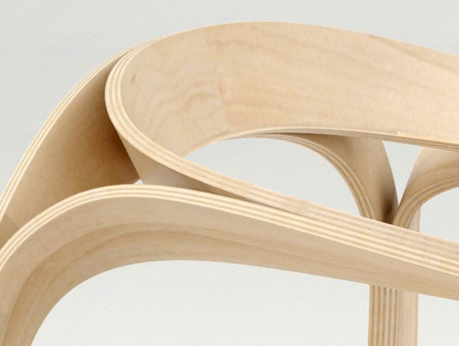 мебель из гибкой фанеры своими руками