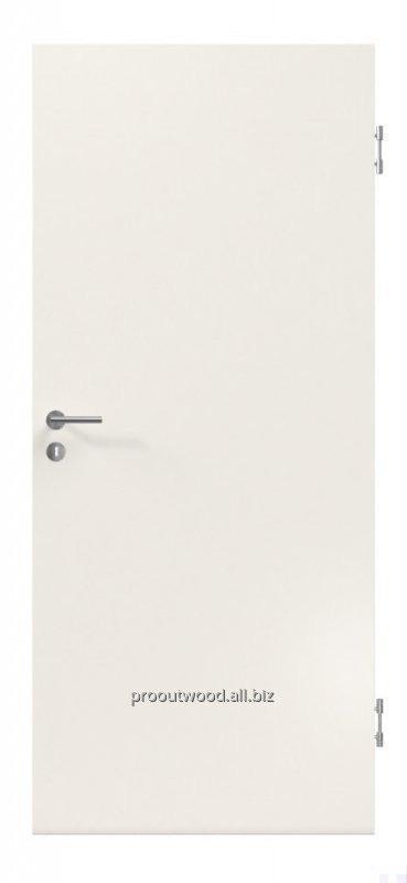 Купить Двери межкомнатные деревянные белые 44 * 800 * 2000 мм., модерн, модель TYP3 AM1