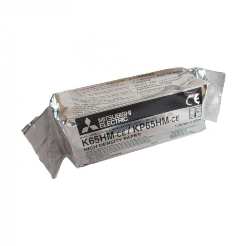 Бумага для видеопринтеров Mitsubishi KP 65 HM