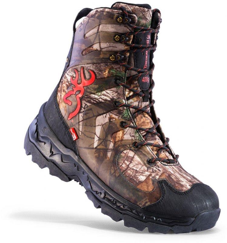 Ботинки для охоты утепленные Browning Buck Shadow 400g Hunting Boot