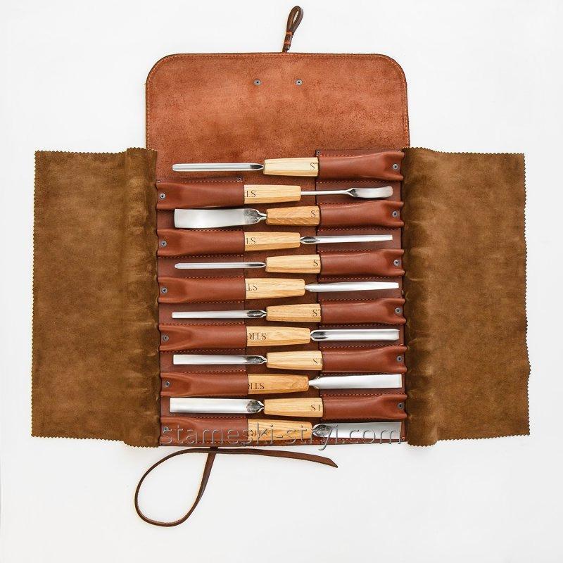 Чехол STRYI  кожаный для хранения инструментов, арт.199996