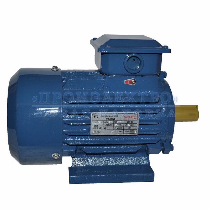 Электродвигатель АИР80А6 - 0,75кВт 1000 об/мин Лапа