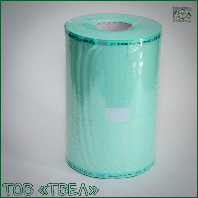 Плоский рулон для паровой и ЭО стерилизации Steridiamond / 250 мм х 200 м ECS