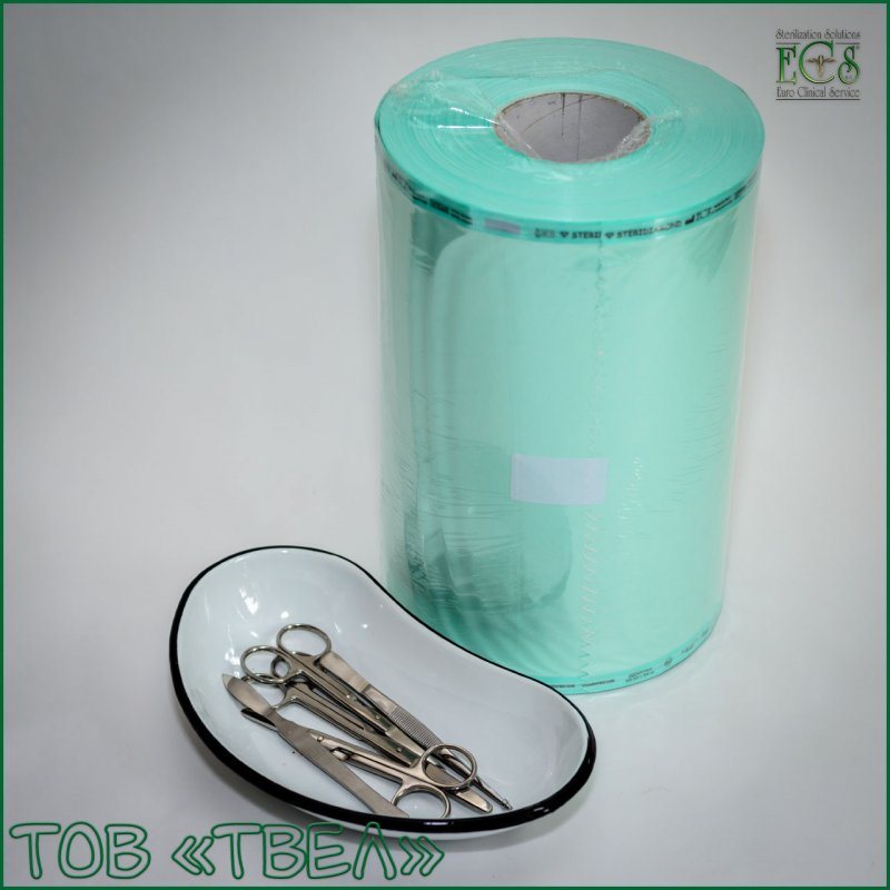 Плоский рулон для паровой и ЭО стерилизации Steridiamond / 400 мм х 200 м ECS
