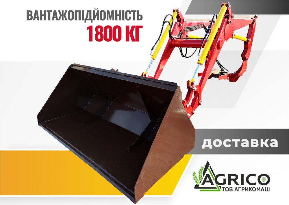 Погрузчик ПБМ-1200 быстросъемный 4,6 м на МТЗ, ЮМЗ в Киеве, Чернигове