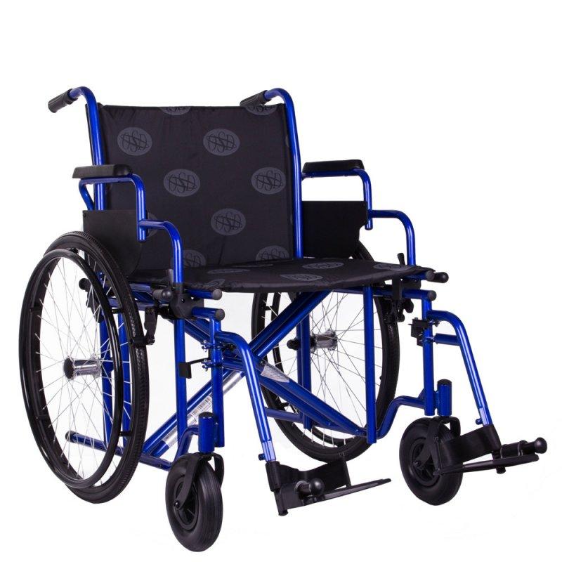 Усиленная инвалидная коляска Millenium HD 50 см OSD