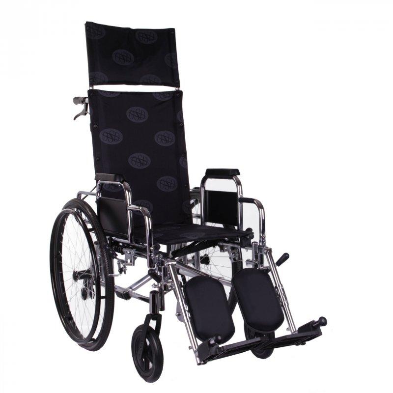 Многофункциональная коляска «RECLINER» хром OSD
