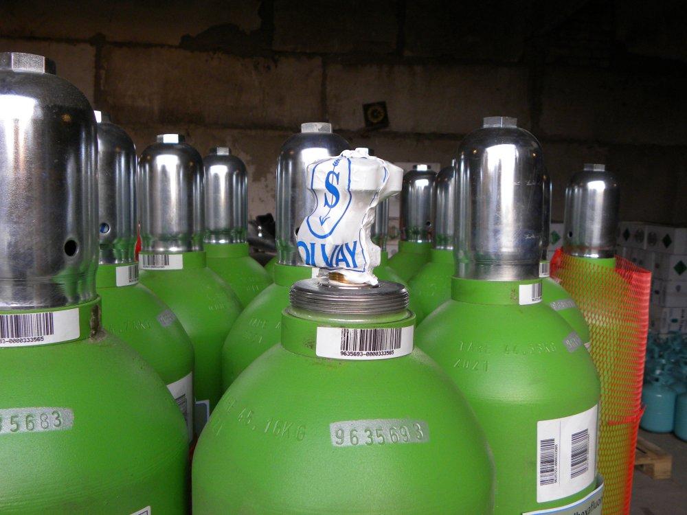 Деэлектрический газ SF6 балон 10,0 кг