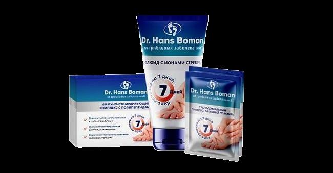 Buy Dr. Hans Boman (Dr. Hans Boman) - a complex of fungal foot triple action
